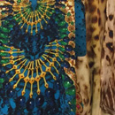 Junglecat one shoulder and scoop neck kaftans